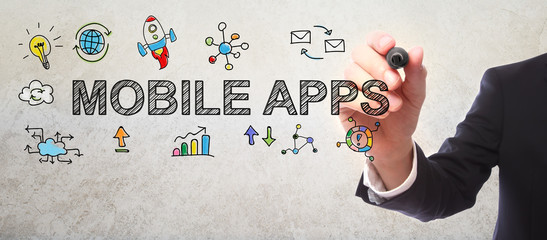 mobile apps written by man